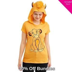 Disney | The Lion King Simba Hooded Cosplay Tee